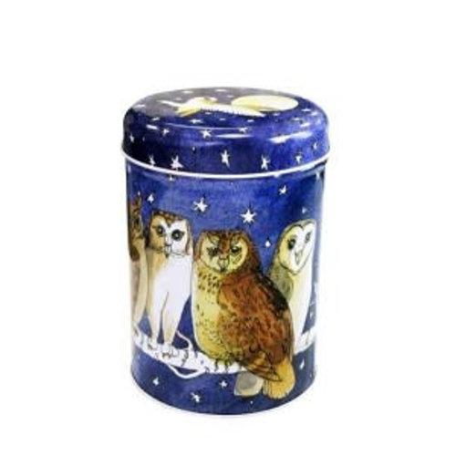 Emma Bridgewater Caddy Tin Owls