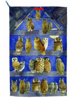 Emma Bridgewater Tea Towel Owls
