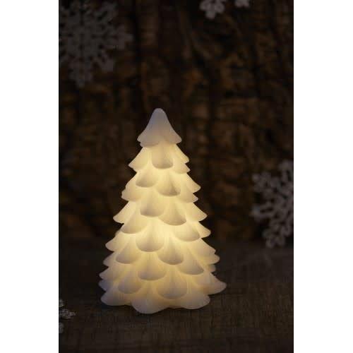 Sirius Carla Kerstboom wax wit H 19cm