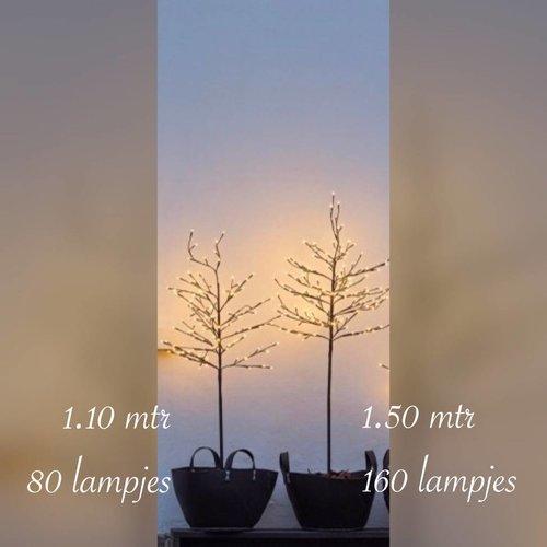 Sirius Noah Tree 80 lights 110 cm zwart