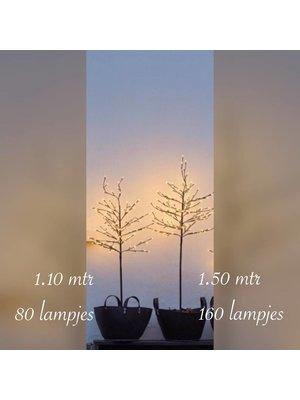 Sirius Noah Tree 160 lights 150 cm zwart