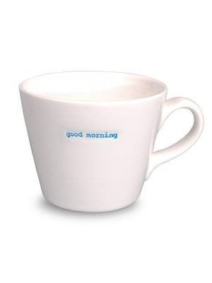 Keith Brymer Jones Bucket Mug Good morning!