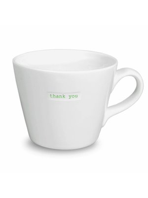 Keith Brymer Jones Bucket Mug Thank You