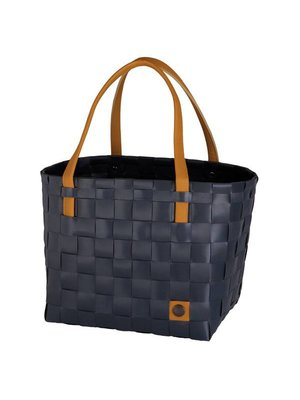 Handed By Shopper Color Block dark grey