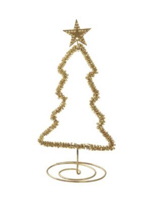 Walther & Co Christmas Tree gold  27003-24