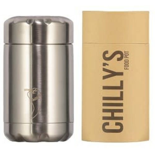 Chilly's Bottle Chilly's FoodPot 300ml Stainless Steel