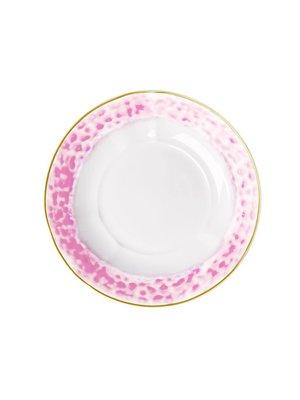 Rice Diep bord Glaze Bubblegum Pink