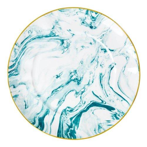 Rice Dinerbord Marble Jade