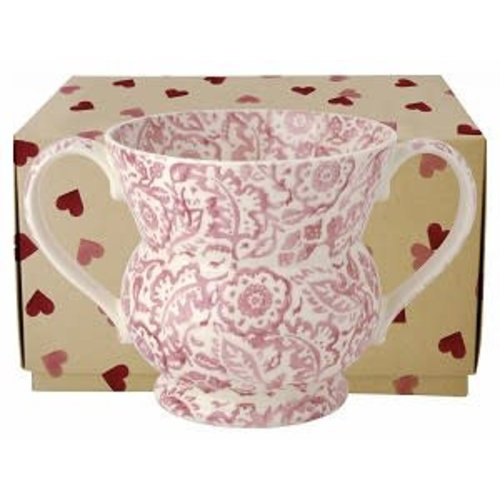 Emma Bridgewater 2 Handled Vase Pink Wallpaper