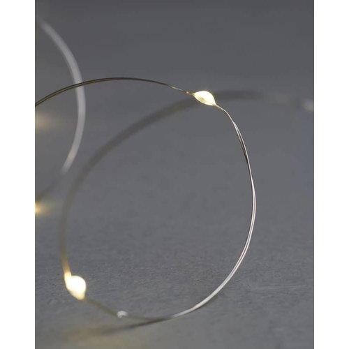 Sirius Knirke lichtjes 40L m/timer helder/zilver