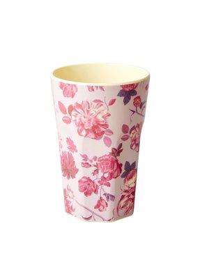 Rice Tall Cup Rose light