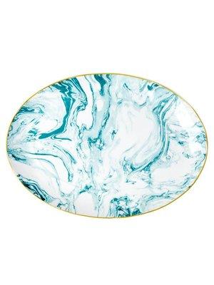 Rice Serveerschaal Marble Jade
