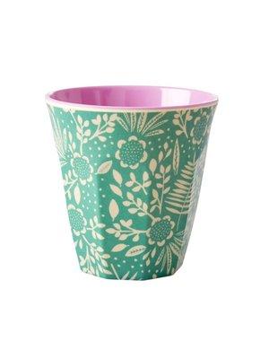 Rice Mel Cup Fern & Flower