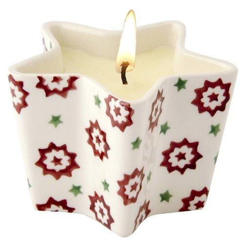 Emma Bridgewater Star Candle Christmas Joy