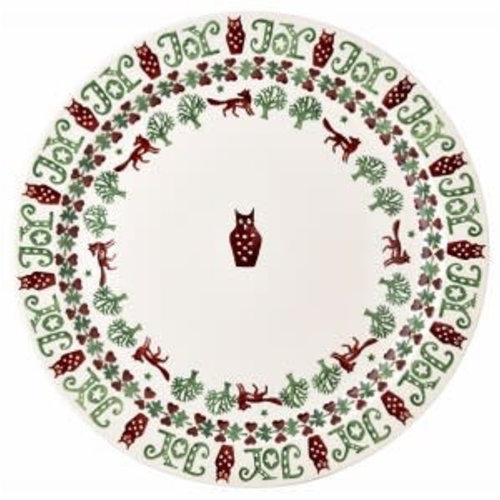 Emma Bridgewater Cake Plate Christmas Joy