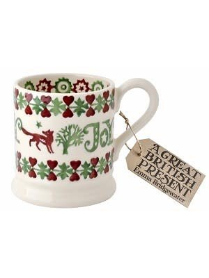 Emma Bridgewater 0.5 pt Mug Christmas Joy