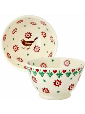 Emma Bridgewater Kom Old Bowl small Christmas Joy