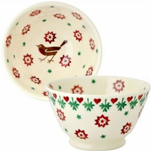 Emma Bridgewater Kom Old Bowl Christmas Joy