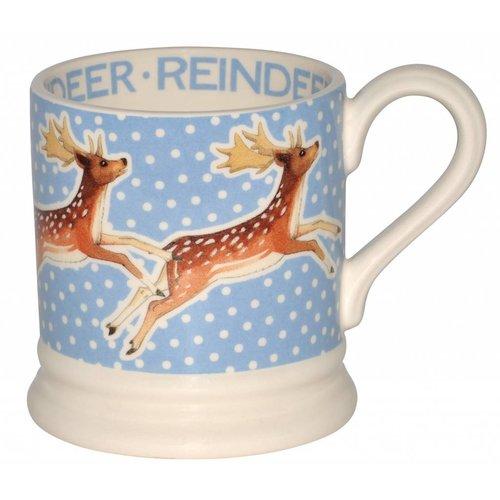 Emma Bridgewater 0.5 pt Mug Snowstorm Reindeer