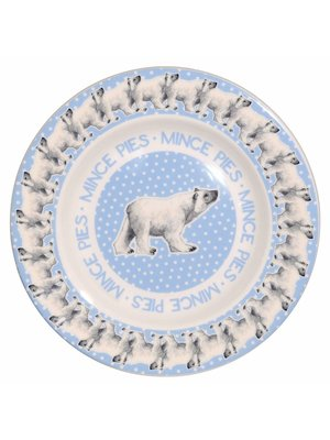 Emma Bridgewater 8.5 Plate Snowstorm Polar Bear