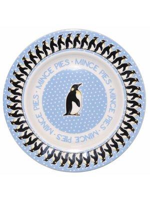 Emma Bridgewater 8.5 Plate Snowstorm Penguin