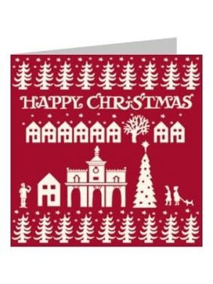 Emma Bridgewater Kaart Red Happy Christmas