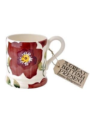 Emma Bridgewater 0.5 pt Mug Christmas Rose