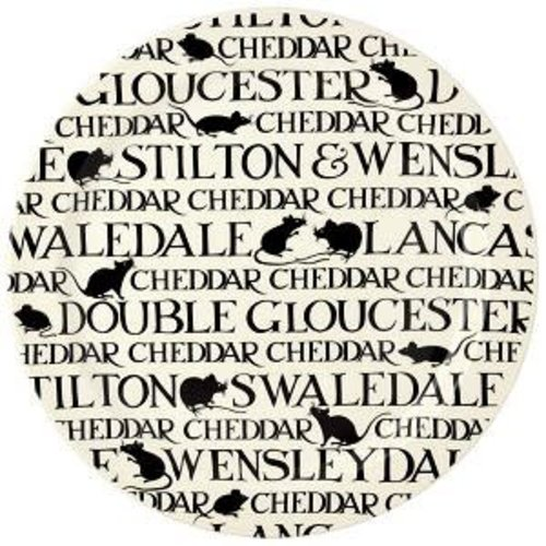 Emma Bridgewater Cake / Cheese Plate BlackToast