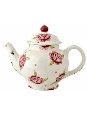 Emma Bridgewater 4 Mug Teapot Rose & Bee