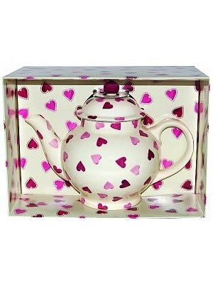Emma Bridgewater 4 Mug Teapot Pink Hearts
