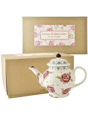 Emma Bridgewater 2 Mug Teapot Rose & Bee