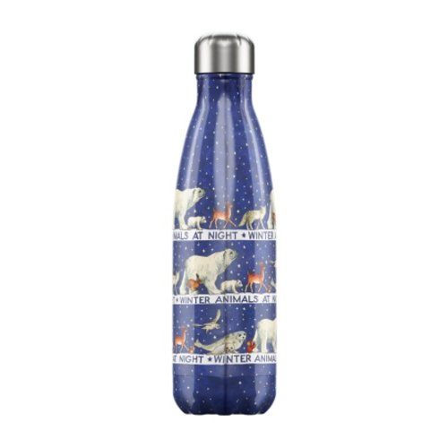 Chilly's Bottle Chilly's Bottle 500ml Winter Animals