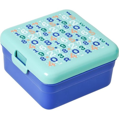 Rice Lunchbox S Retro Numbers