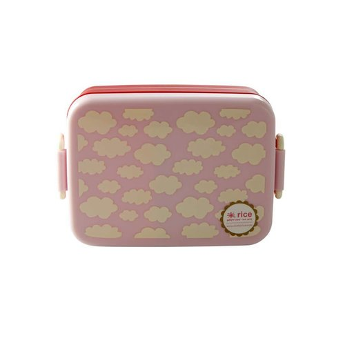 Rice Lunchbox Wolk / Cloud roze