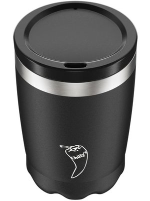 Chilly's Bottle Chilly's Coffee Cup 340ml Black Matte