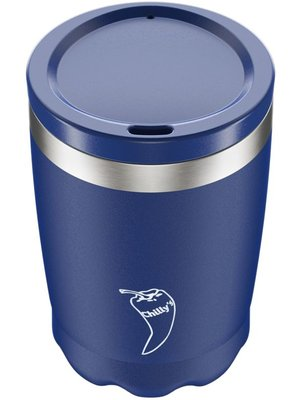 Chilly's Chilly's Coffee Cup 340ml Blue Matte
