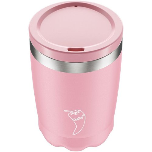 Chilly's Bottle Chilly's Coffee Cup 340ml Pastel Pink