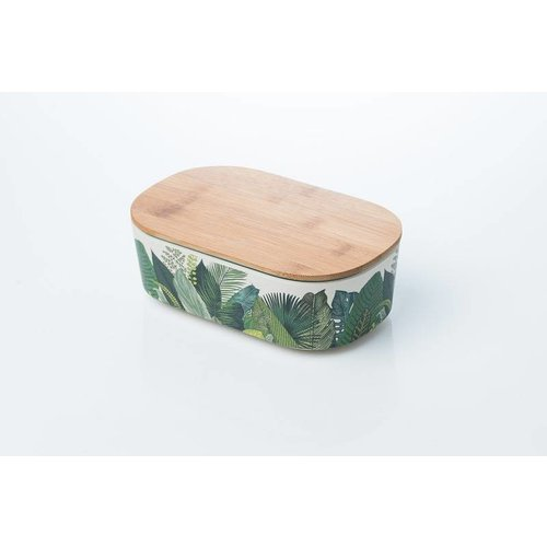 Chic.mic Lunchbox Deluxe Exotic Leaves