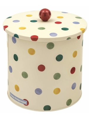 Emma Bridgewater Biscuit Barrel Polka Dots