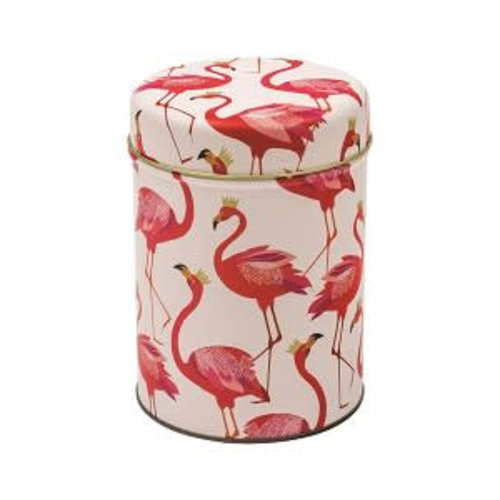 Caddy Tin Flamingo