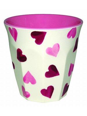 Emma Bridgewater Melamine beker Pink Hearts