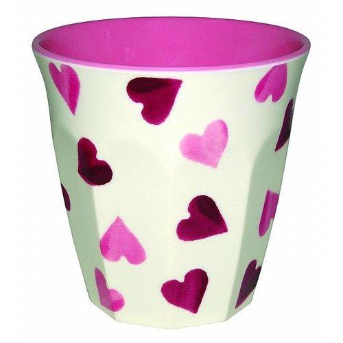 Emma Bridgewater Mel Beaker Pink Hearts