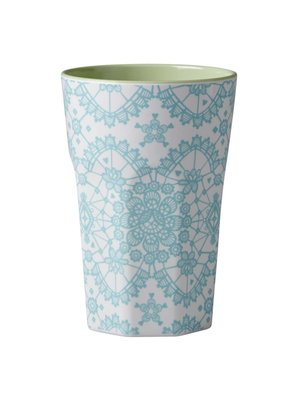Rice Tall Cup Lace Mint