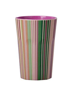 Rice Tall Cup Stripe TodayisFun