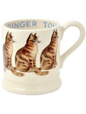Emma Bridgewater 0.5 pt Mug Ginger Tom