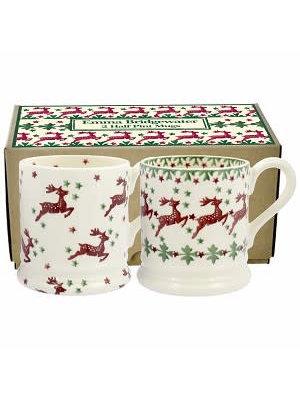 Emma Bridgewater 0.5 pt Mug Reindeer