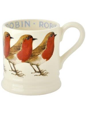 Emma Bridgewater 0.5 pt Mug Robin NEW