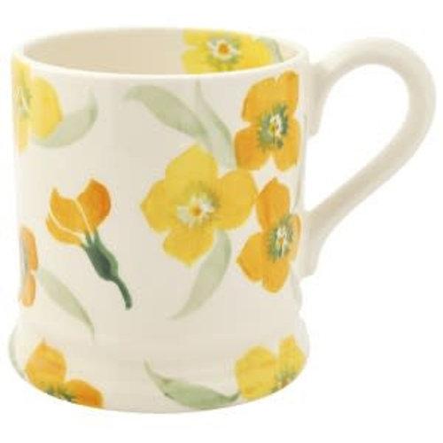 Emma Bridgewater 0.5 pt Mug Yellow Wallflower