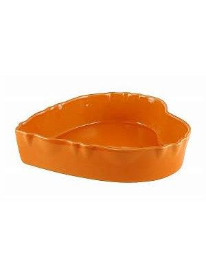 Ovenschaal Hart 18 cm Mandarine