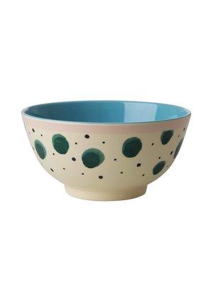 Rice Mel Bowl Watercolor Splash